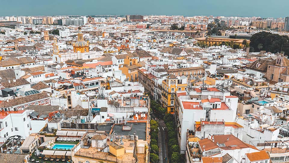 City view in country of origin Spain